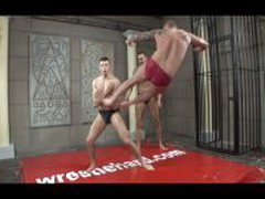 Two Musclemen Bang Twink
