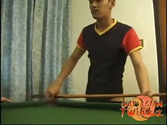 Boys Billiards And Balls