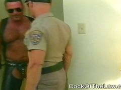 Cop Makes A Bear Call