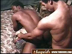Nailing His Black Ass