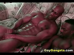 Sexy Gay Thug Sucked And Fucked Hard