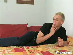 Twink Blond Takes It Up The Ass