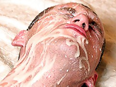 Guy Facial From Gay Creamy Asshole