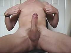 Nipple Play And Cum