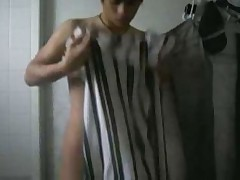 Emo Boy Shower
