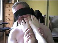 Foot Licking Bear Scene