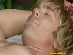 ClubAmateurUSA Blonde Stud Bobby Rail
