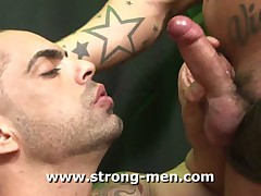 Military Sucking Cock