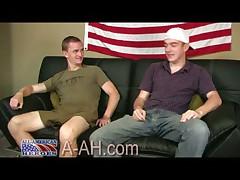 Marine Recruit Barrett And Civilian Jake