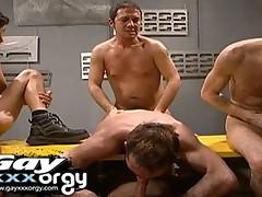 Army Boys Orgy
