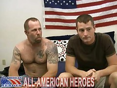 Staff Sergeant John And Sergeant Brent