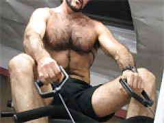 Hairy Gym Work Out