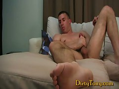 Hot Muscle Stud Gets Dirty