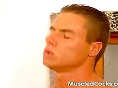 Muscled Studs Handle Big Cocks