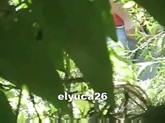 Spy Cam In The Bushes