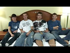 Broke Straight Boys - 4Way Oral Fun