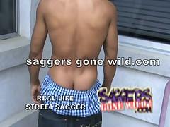Black Thugs Saggy Pants