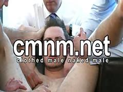 Wanked By 4 Men