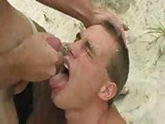 Eating Cumshots