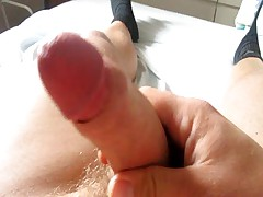 Uncut Dick Jerk Off