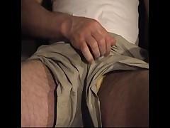 Jizzing Into My Thong