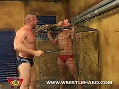 Hot Bodybuilders Punishment Fuck