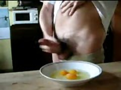 Scrambled Eggs + Cum