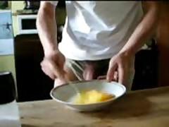 Scrambled Eggs + Cum