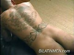 Latino With Fat Cock