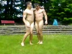 2 Sexy Naked Boy Make Out