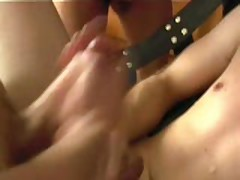 Tight Bottom Getting Sprayed With Hot Jizz