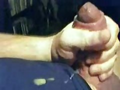 Stroking My Fat Uncut Cock