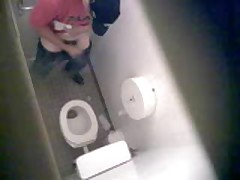 Toilet Spy Wank