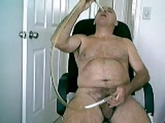 Kinkyroly Pees Into A Tube And Drinks It