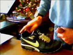 Sperm On Nike Air Max Classic