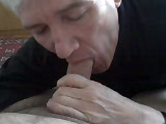 Older  Sucks My Cock