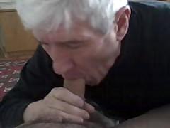 Older  Sucks My Cock