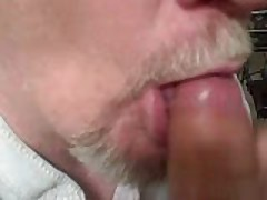 Hot Older Guy Drinks My Cum While I Watch A Video