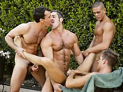 Jerek, Aaron Parker, Colton Ford, Travis Reed