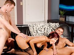 Hard Knox Threesome