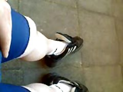 Hot Bicycle Ride In Lycra